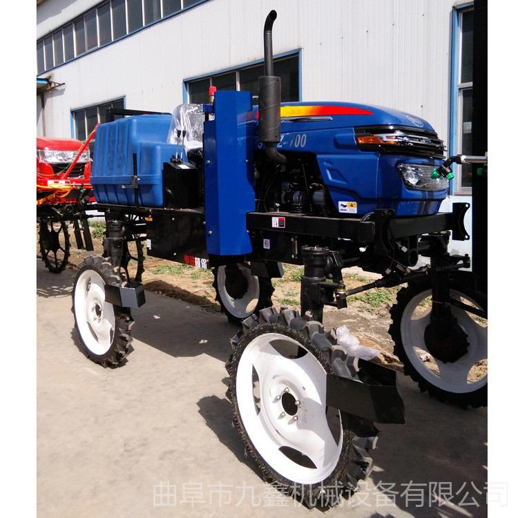 菜农打药施肥机四轮自走式蔬菜运输车多功能打打药运输车价格