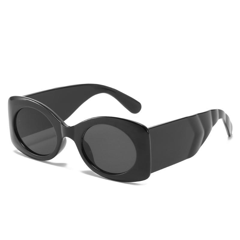 2021希英新款太阳镜 欧美潮流风圆形眼镜 时尚百搭街拍圆框墨镜女批发 sunglasses
