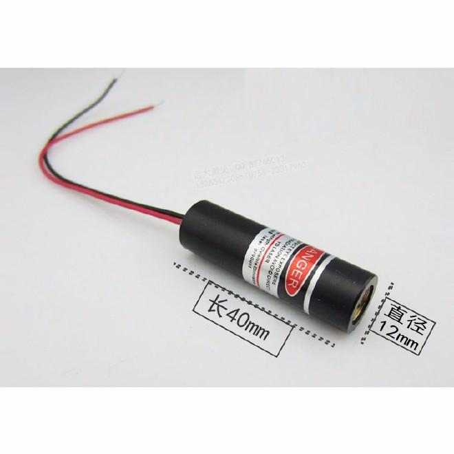 深圳远大激光YD-D635W5-A12-40激光打标机红光指示器 点状激光定位灯  红光点状镭射灯 点状探头图片
