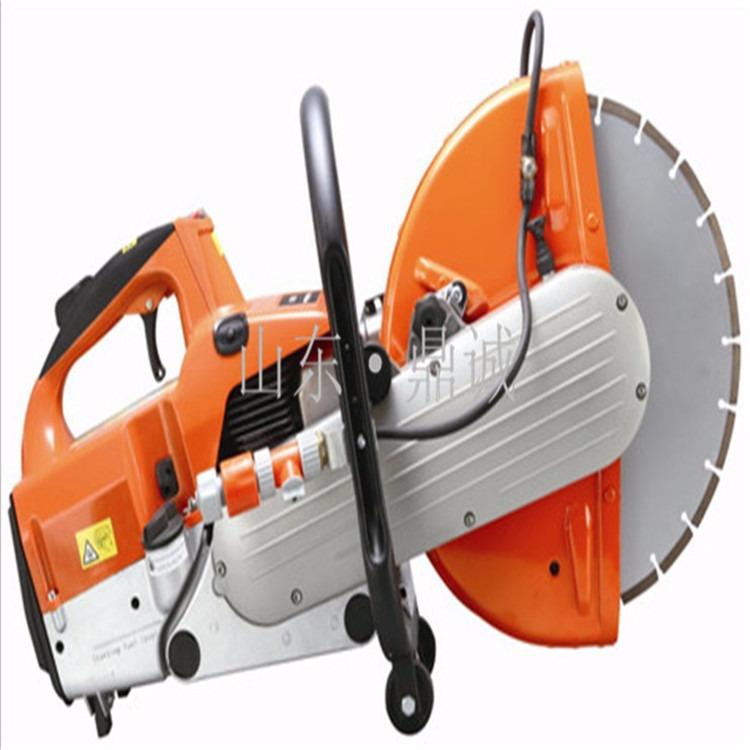 石材手提式切割机 汽油手持式汽油切割机 切割深度12公分图片