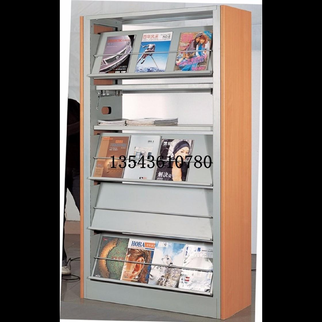 学校借阅室图书架佛山学校书包柜订做厂家图书馆钢木书架宝宝书架教科书柜
