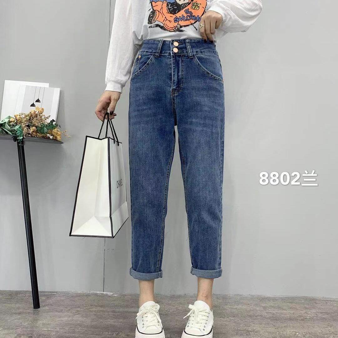 低价女式牛仔裤清仓 便宜库存牛仔长裤批发 厂家尾货牛仔裤批发