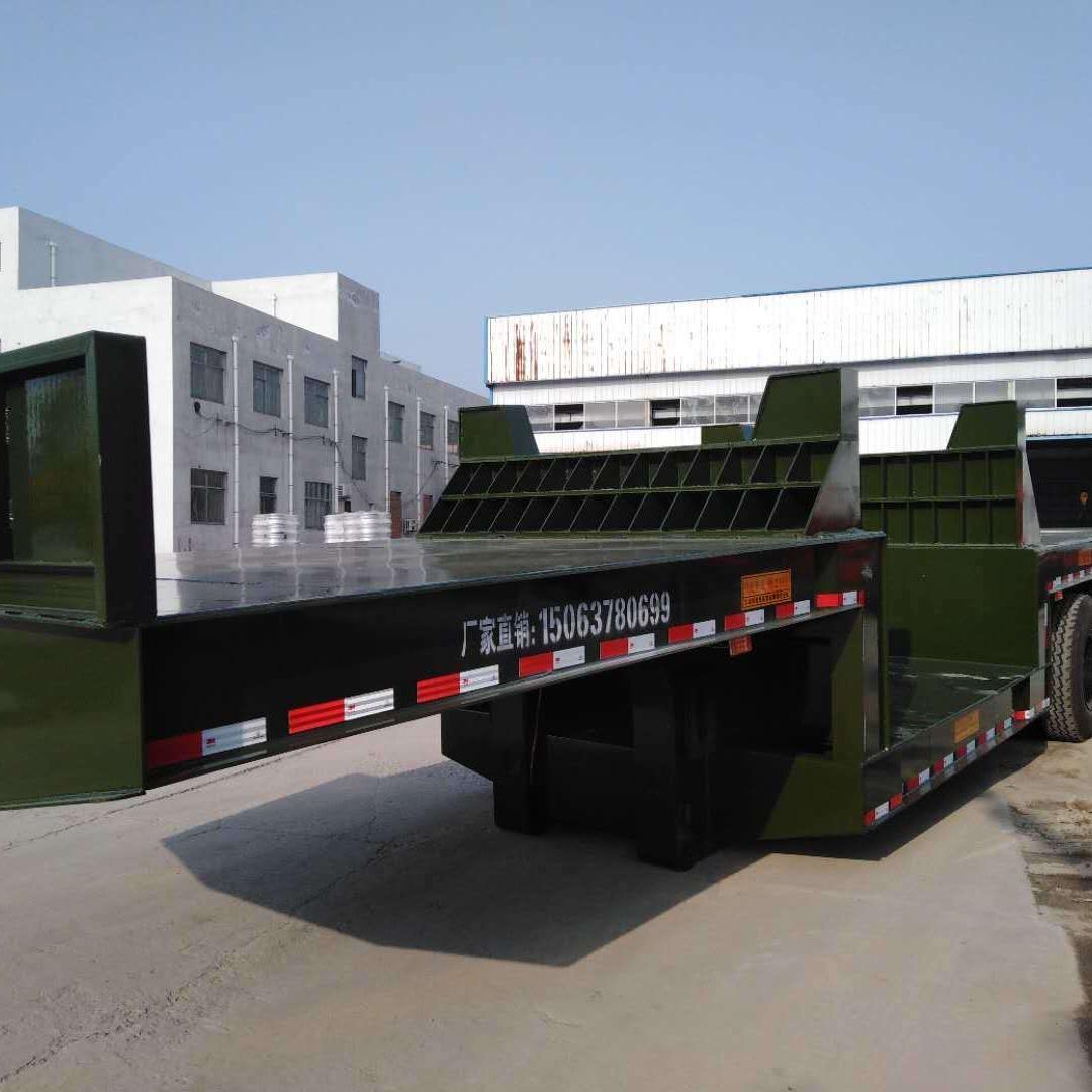 80公分低平板挂车的载重理论,六轴大挂货车限重49吨车型规格