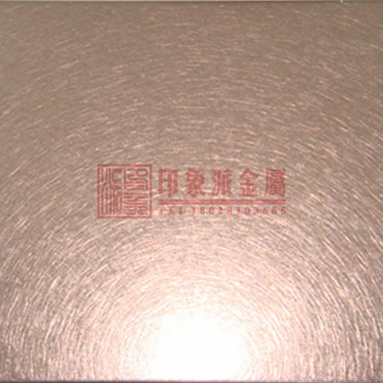 厂家生产彩色装饰不锈钢板 不锈钢电梯天花板装饰和纹板定制加工图片