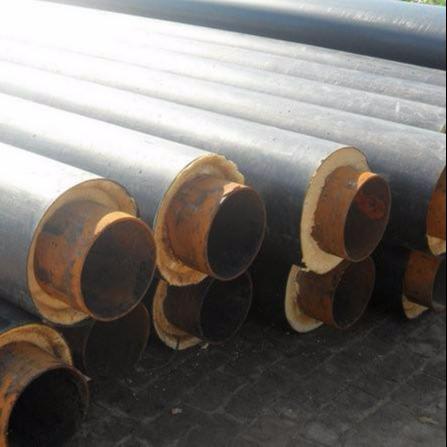龙都管道直销 热水聚氨酯保温管道 采暖预制直埋保温钢管 聚氨酯直埋保温钢管