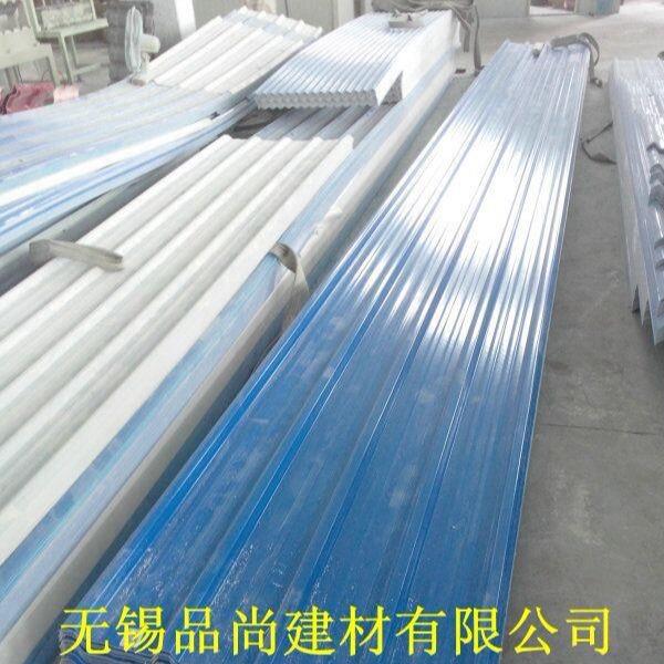 厂家自产自销复合瓦 APVC塑钢瓦 防腐塑料瓦