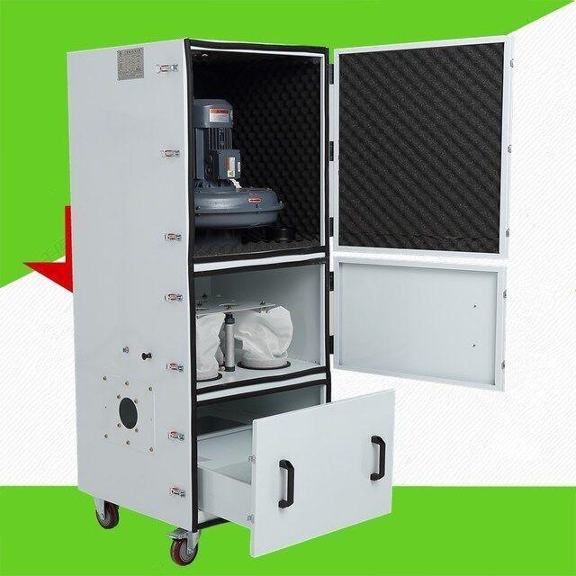 工业除尘器,粉尘集尘器,磨床粉尘集尘器,一拖二工业除尘器,全风柜式集尘机