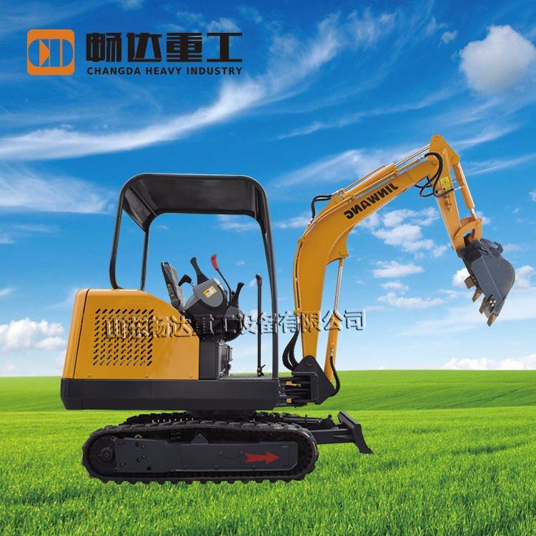 暢達微型小挖機 18小型挖掘機價格 園林超小型挖機 小型挖掘機配件圖片