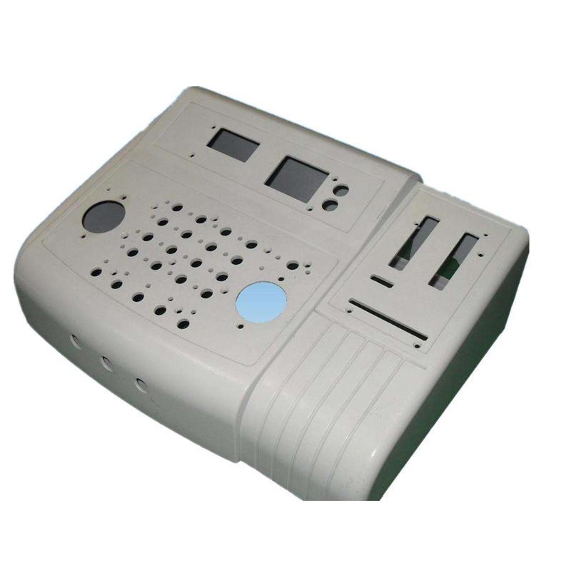 电子数码类双色塑料注塑模具 显示终端面板 三防手机套开模成型注塑模具加工