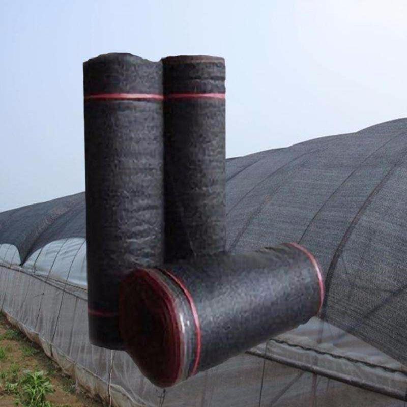 黑色遮陽網 3針4針6針8針遮陽網 防塵遮陽網 蓋土網 結實耐磨耐用抗氧化新料生產防熱農用遮陽網