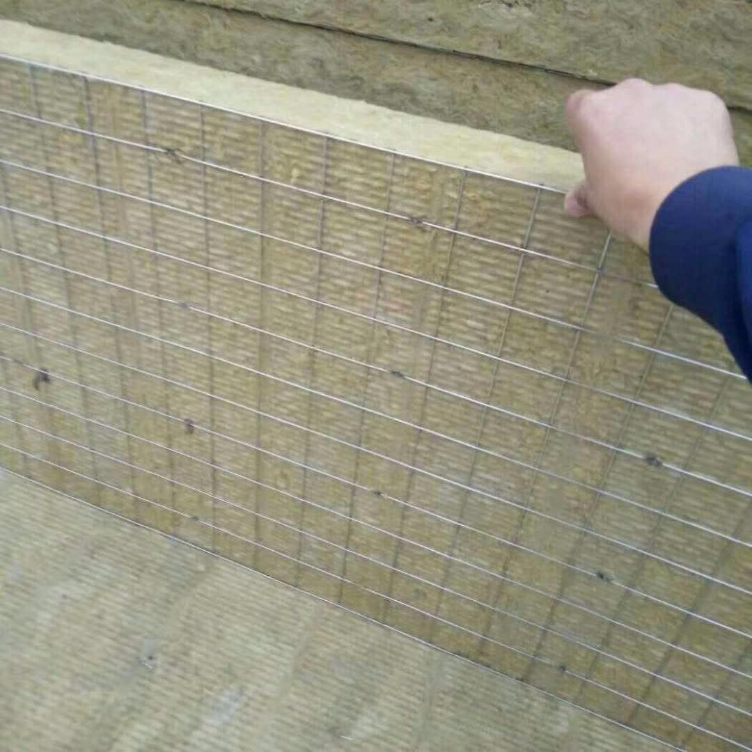 生产批发降音抗噪岩棉板   洛克德外墙岩棉板价格  供应复合岩棉厂家