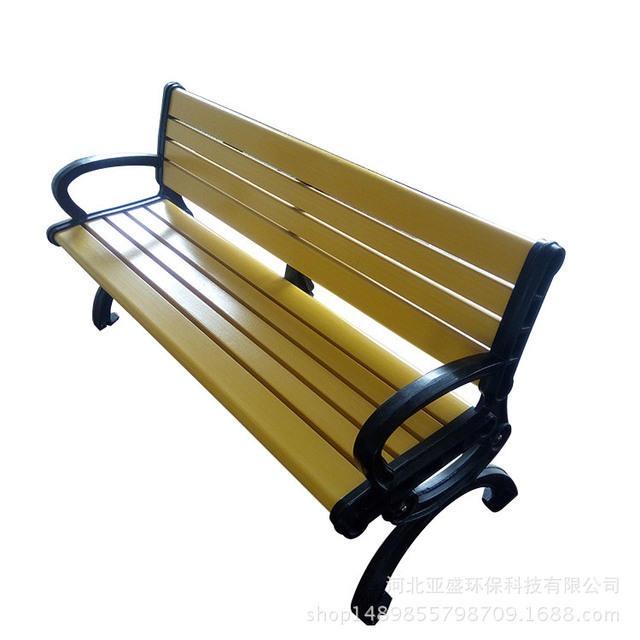 亚衰厂家直销玻璃钢公园少座椅  户中防腐少条座椅  戚闲椅 公园椅排椅 定制