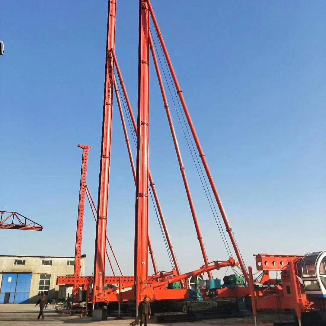 CFG--26米长螺旋钻孔机 中原钻机厂热销