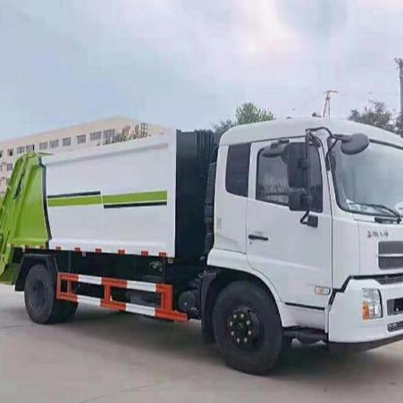 專業環保垃圾轉運車 14立方側裝垃圾車 天錦壓縮式垃圾車