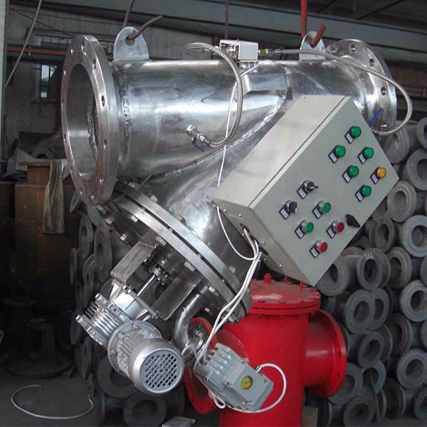 新乡利菲尔特80立方/小时自清洗过滤器水过滤器生产厂家