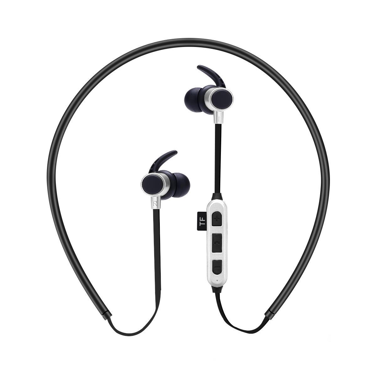 DODGE 入耳式蓝牙耳机 金属磁吸手机游戏语音安卓苹果手机电脑通用 跑步运动无线插卡耳麦 网店一件代发