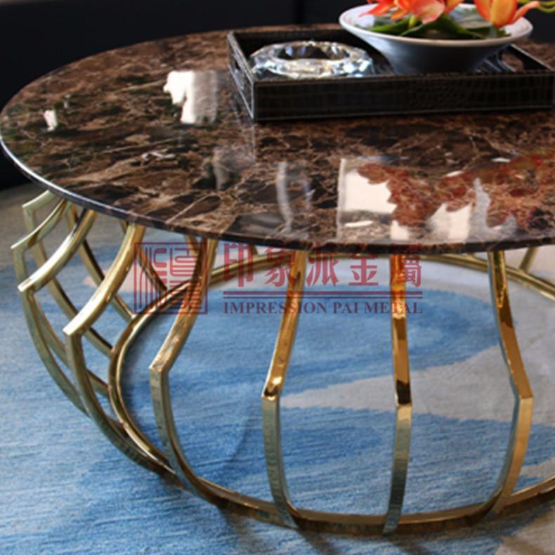 精品彩色不锈钢家具骨架镀钛定制厂家 优质不锈钢桌子椅子制作厂家 镀钛不锈钢家具