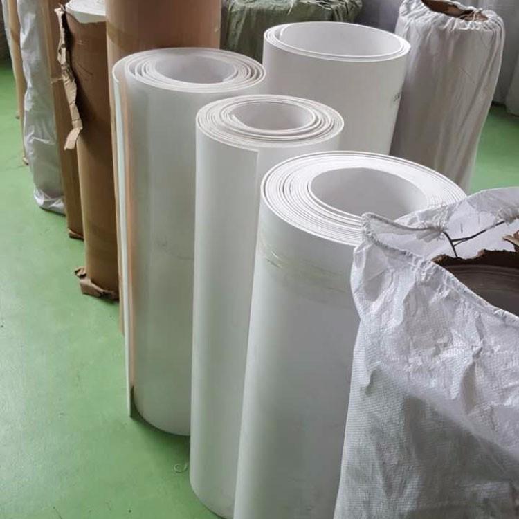5毫米四氟楼梯板 宁夏银川四氟板价格 电厂用四氟板专卖 耐磨高润滑纯白色四氟板 工地聚四氟乙烯楼梯板示例图1