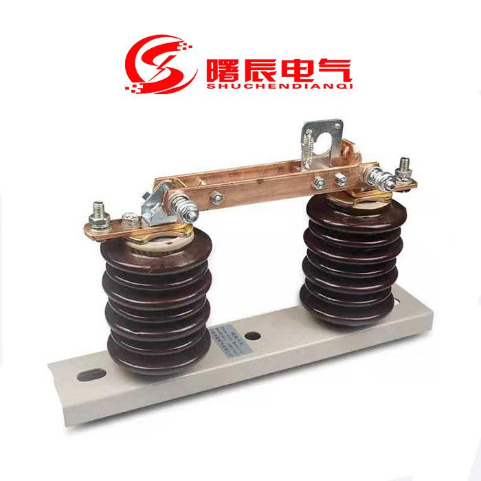 常规10KV高压隔离开关GW9-12/630A高压隔离刀闸示例图2