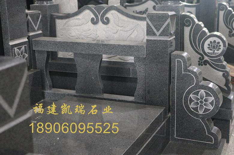 福建墓碑厂家凯瑞石业直销批发墓碑 传统墓碑雕刻内容丰富 可支持定制示例图6