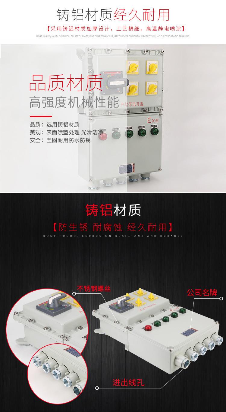 隆业供应-不锈钢防爆接线箱304不锈钢BXM(D)52防爆配电箱示例图5