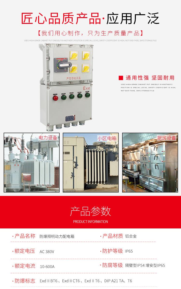 隆业供应-不锈钢防爆接线箱304不锈钢BXM(D)52防爆配电箱示例图6