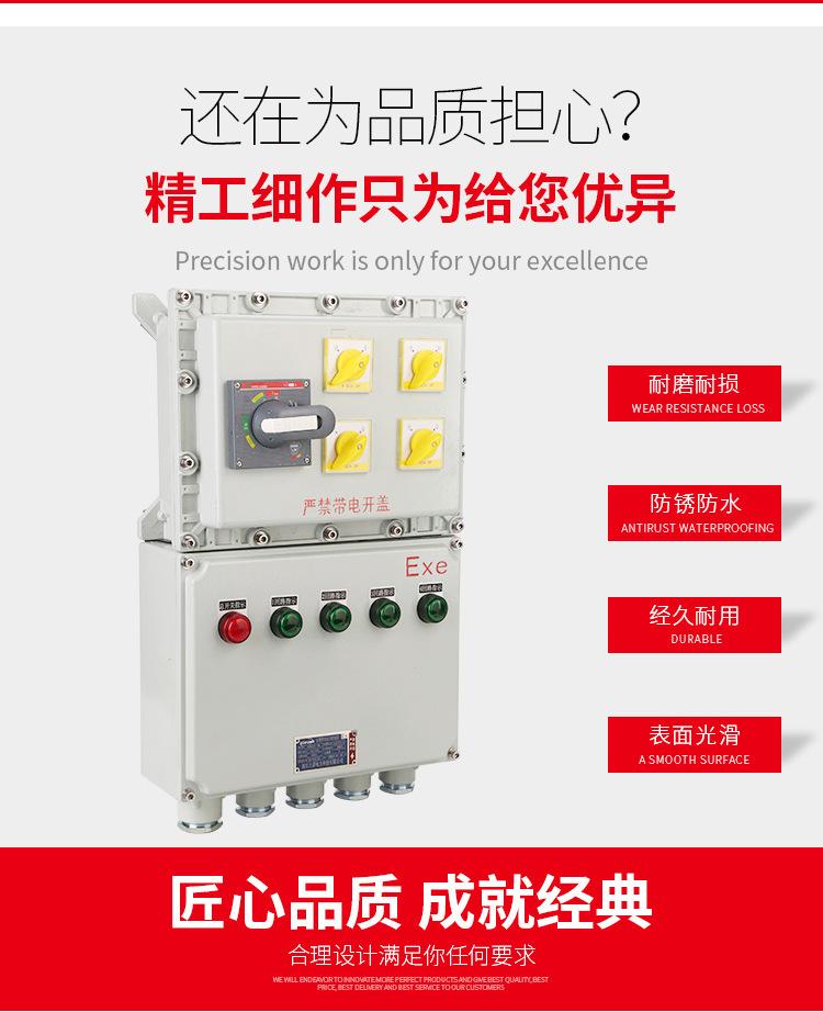 隆业供应-不锈钢防爆接线箱304不锈钢BXM(D)52防爆配电箱示例图4