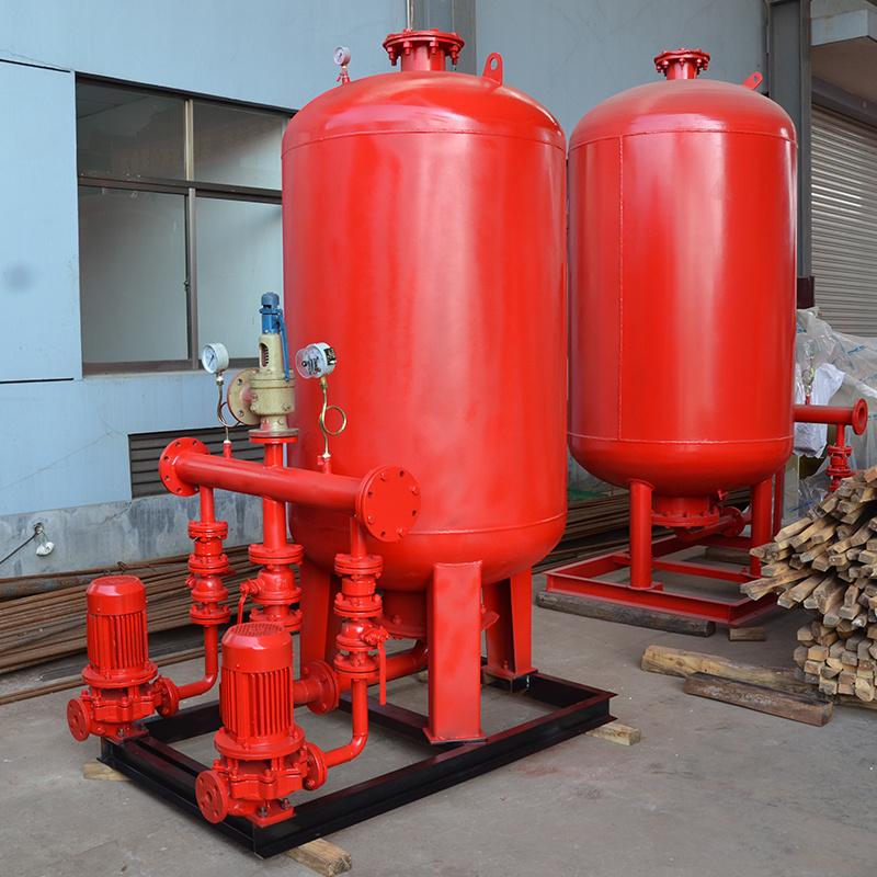 消防泵 上海喜之泉上置式XZQ  消防增压稳压设备  ZW(L)-1-X-7消防泵供水设备示例图1