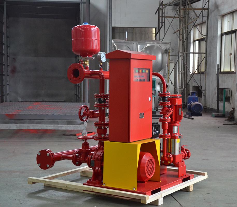喜之泉3CF认证EDJ双动力柴油机消防泵组示例图5