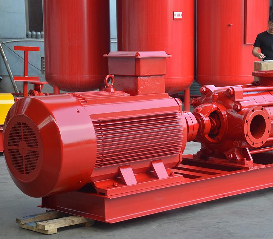 上海喜之泉XBD-D卧式多级消防泵组 卧式电动消防泵 消防设备,消防泵示例图2