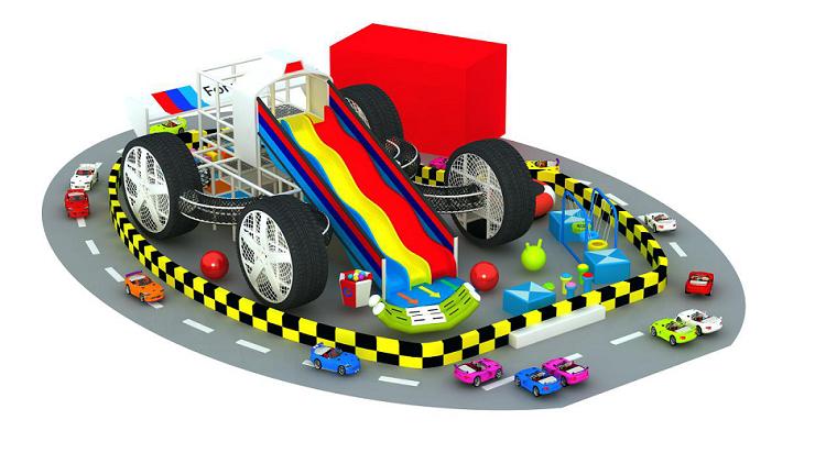 大型室内体能概念主题综合体儿童乐园,小勇士体验式儿童乐园,网红项目儿童乐园示例图2