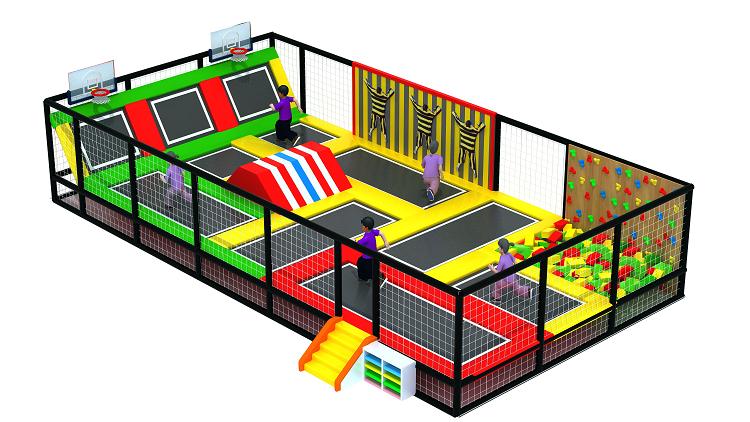 大型室内体能概念主题综合体儿童乐园,小勇士体验式儿童乐园,网红项目儿童乐园示例图11