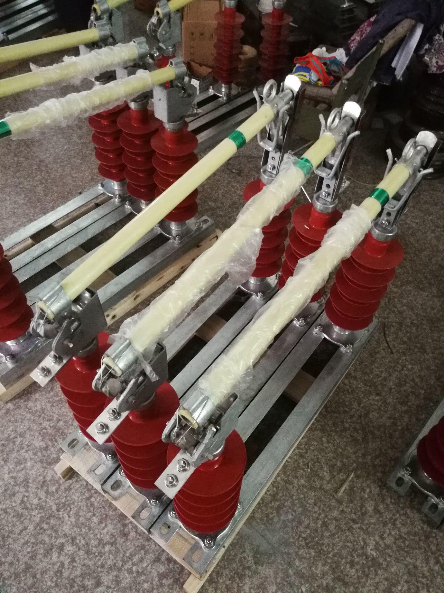 防风型35KV限流式高压熔断器HGRW1-35/200A可配熔丝示例图1