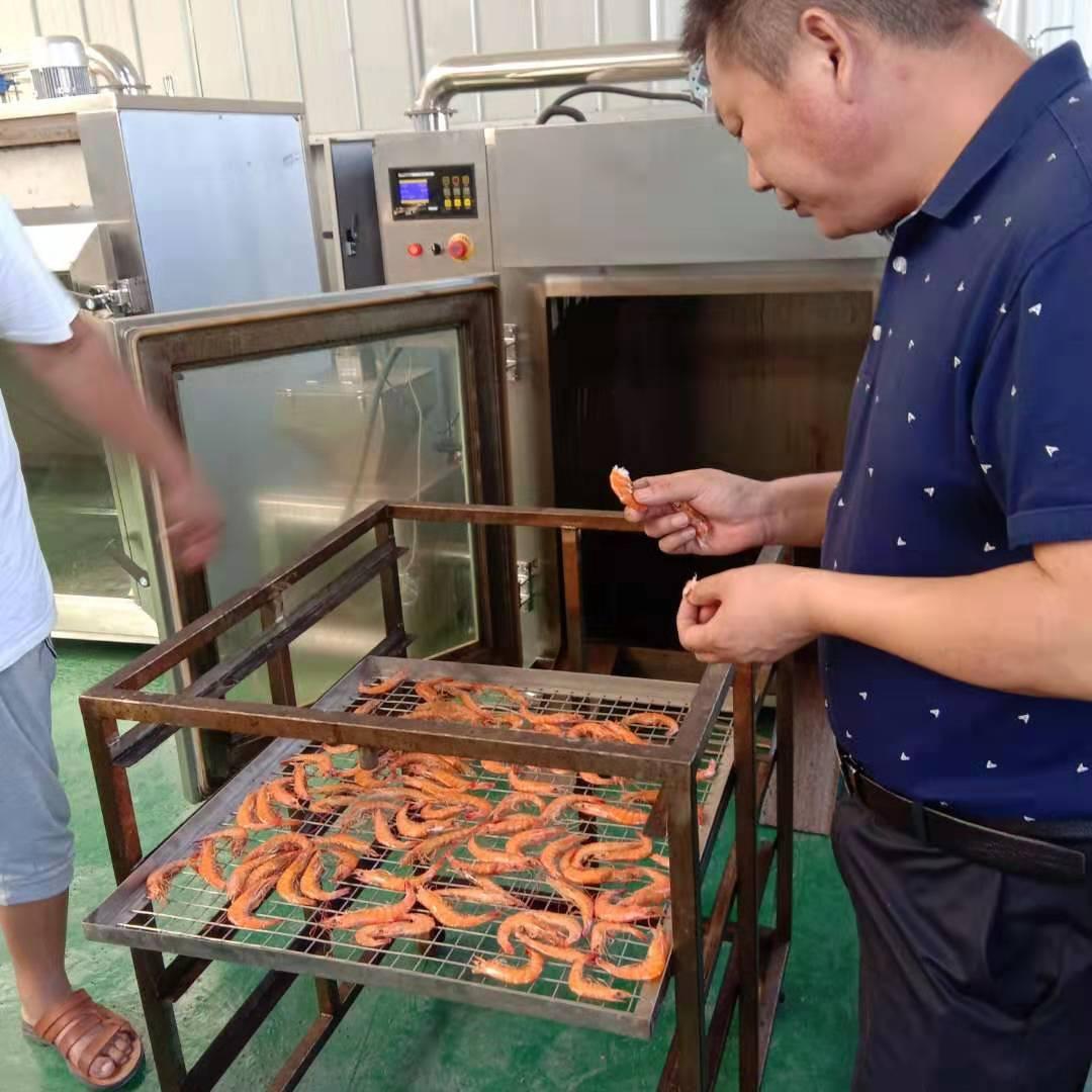 盛众特惠全自动烟熏炉 肉制品加工设备 烧鸡烤鸭熏蒸上色烟熏炉示例图9
