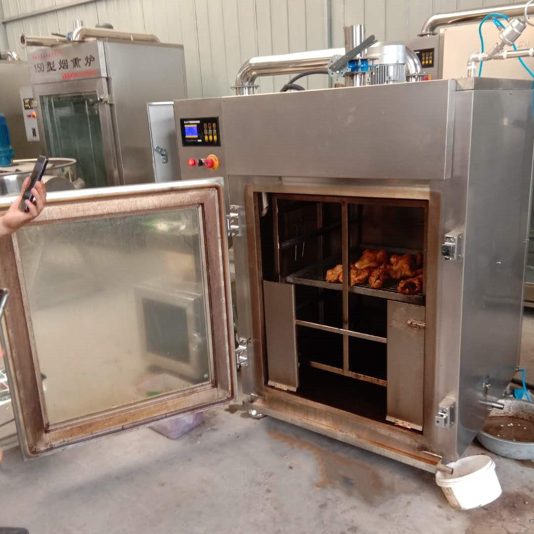 红肠烟熏炉,全自动红肠烟熏炉,整套红肠生产设备示例图4