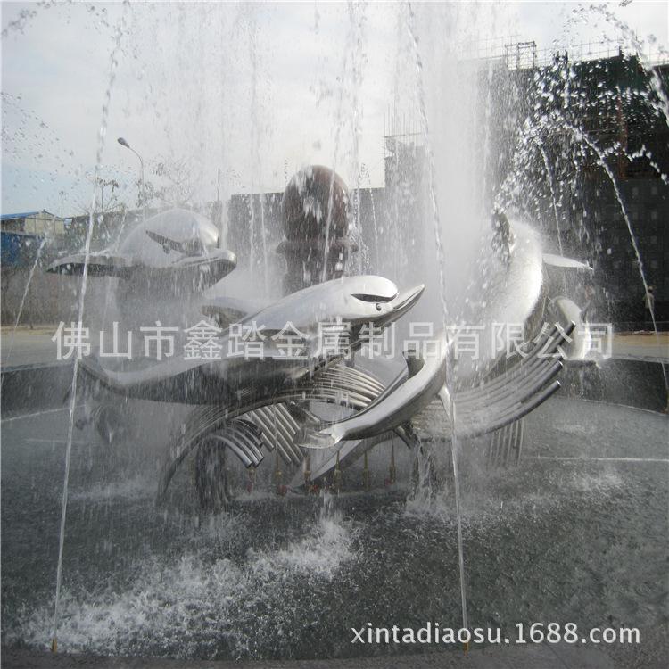 人造草坪大型304不锈钢镂空蚂蚁雕塑 白色氟碳漆表面安装效果图示例图19