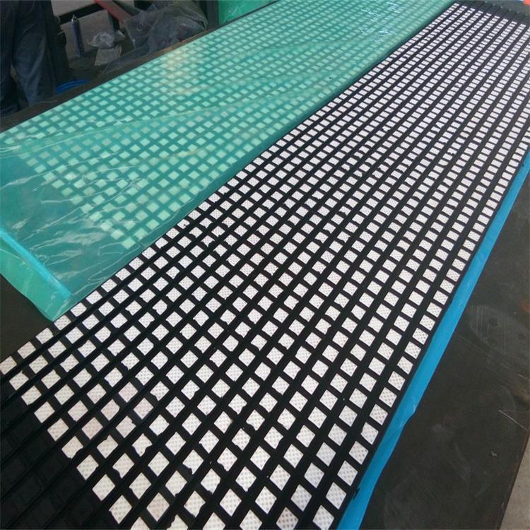 洛阳瑞塔橡胶丨宽500mm带半硫化层陶瓷胶板丨陶瓷包胶现场施工示例图8