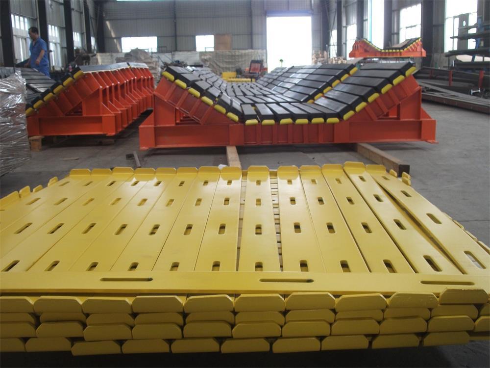 水泥厂皮带卸料口缓冲床  缓冲床源头生产厂家示例图11