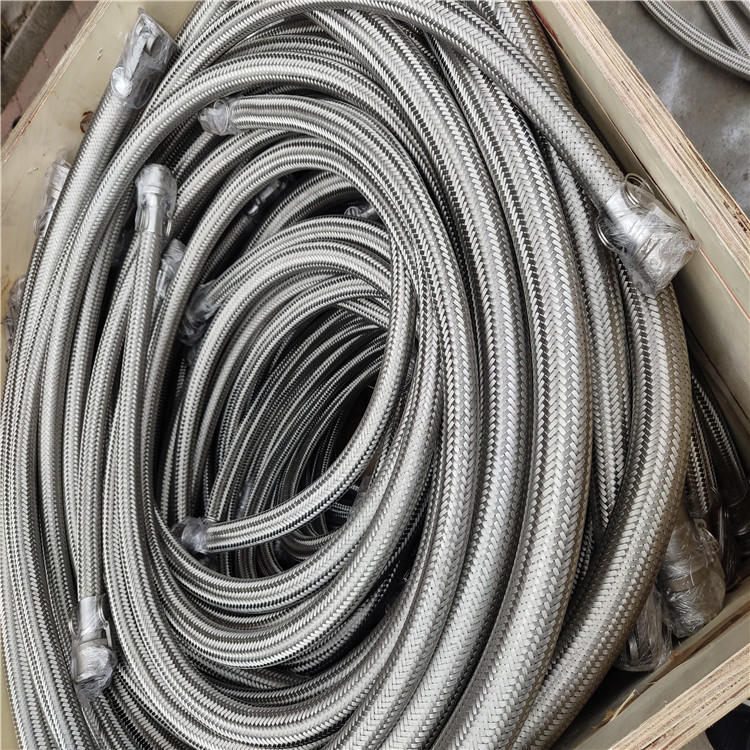 弘创厂家供应dn100挠性金属软管 天然气金属软管 dn100金属波纹管 质量好示例图7