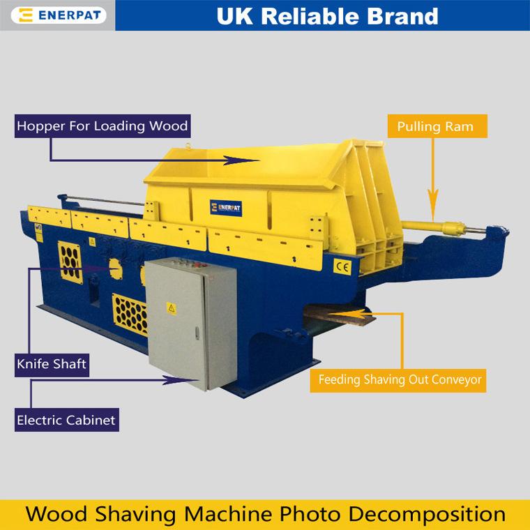刨花生產設備 木材刨花機EWS-37木刨花生產線示例圖3