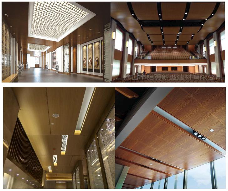 直供各种纹路颜色4d3d木纹铝单板 腐蚀木纹铝单板 手感木纹铝单板示例图12