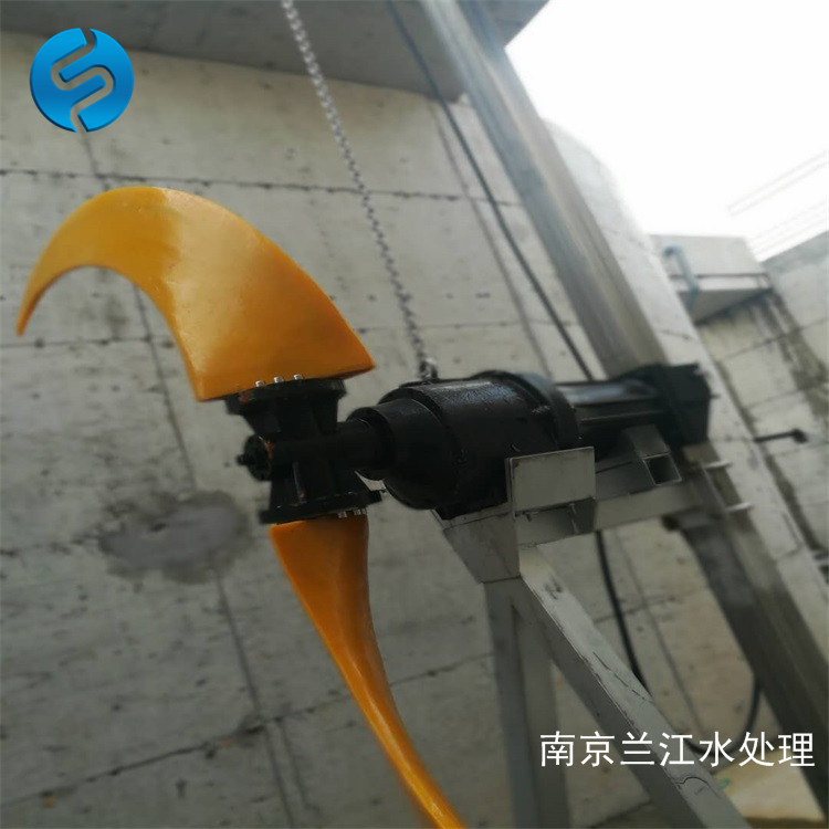 南京兰江QJB7.5/4-1800潜水低速推进器 水下推流器示例图14