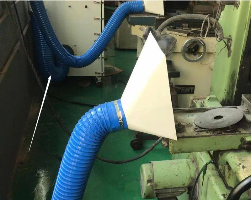 砂带机除尘设备 石墨粉尘吸尘装置 TWYX工业磨床吸尘机示例图16