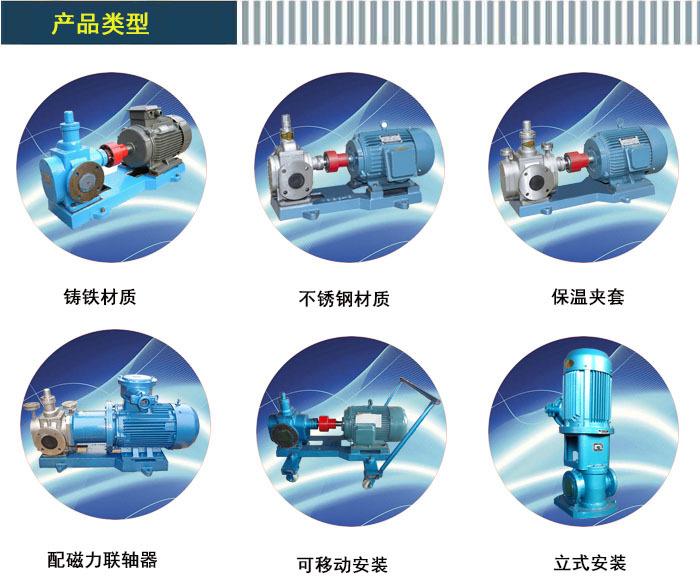 轻相油输送泵天鹏化工采购流量12m3/h用YCB12/0.6齿轮泵示例图1