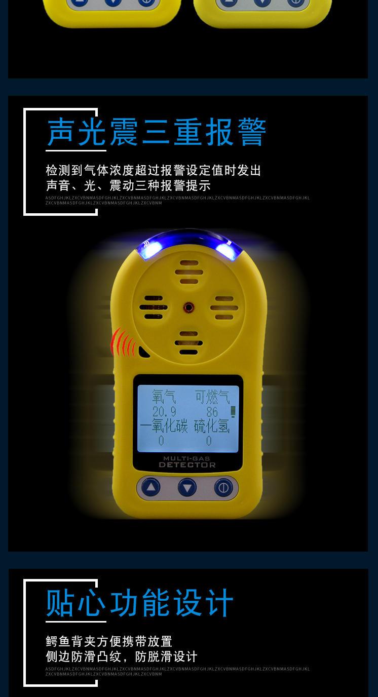 臭氧检测仪 便携式臭氧测漏仪 手持臭氧有毒有害气体探测仪示例图11