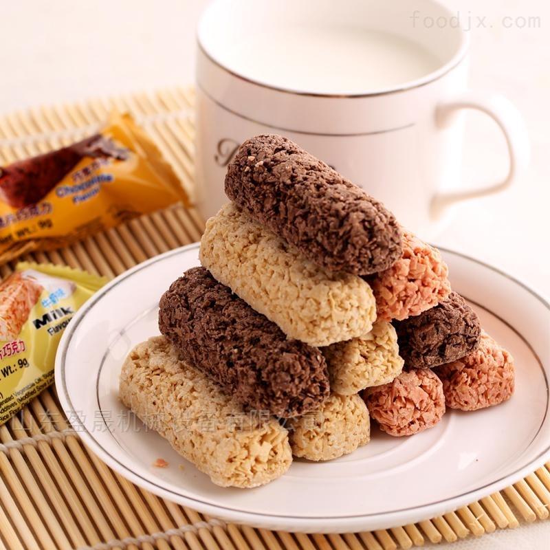 供应巧克力奶油涂层夹心米果生产线示例图3