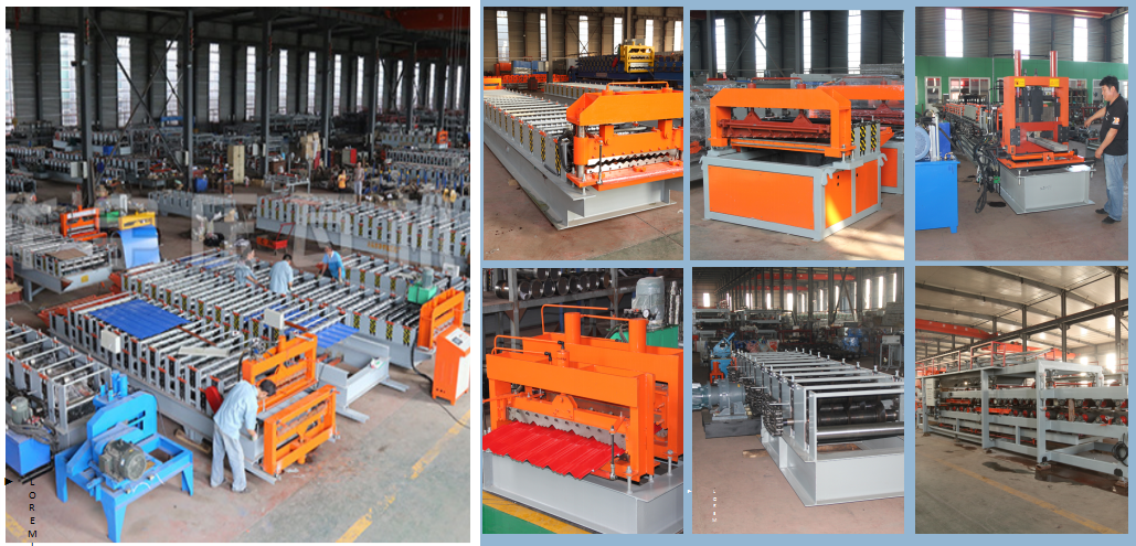 华宇新型楼承板压瓦机 楼承板机器 闭口楼层板机 钢结构承重板设备示例图2