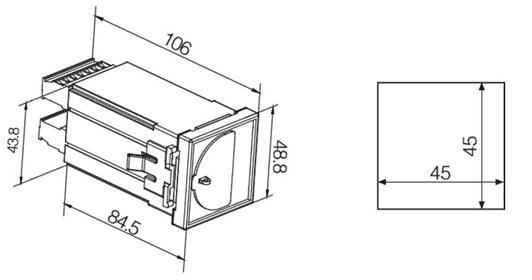 通讯铁塔用过欠压保护器    智能剩余电流继电器   安科瑞ASJ20-LD1A    双继电器输出  1路A型剩余电流示例图6