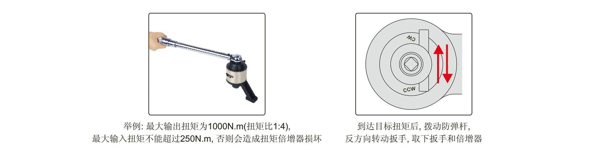 工业级扭矩倍增器 扭力倍增器 MDNF-20 2000N.m 扭矩比13倍示例图8