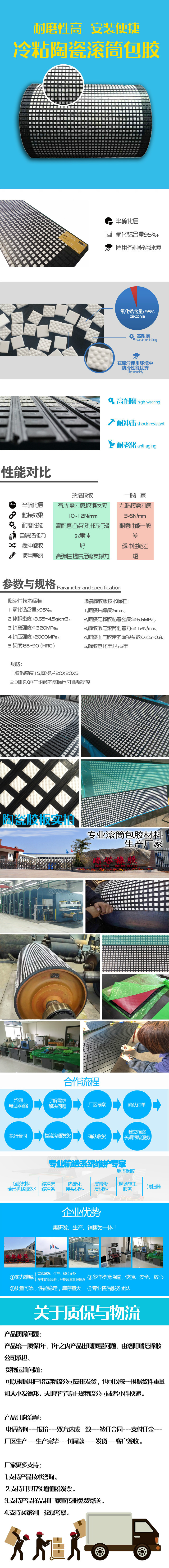 cn层陶瓷包胶板厂家价格陶瓷包胶示例图2